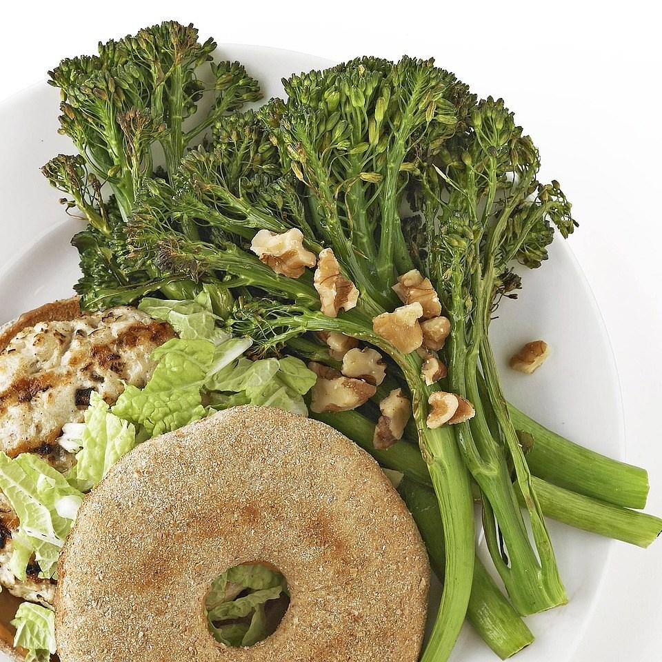 Broiled Broccolini