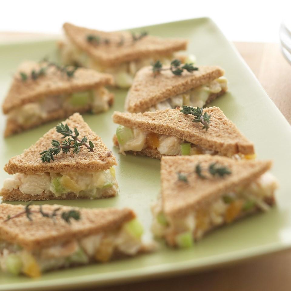 Chicken Salad Tea Sandwiches