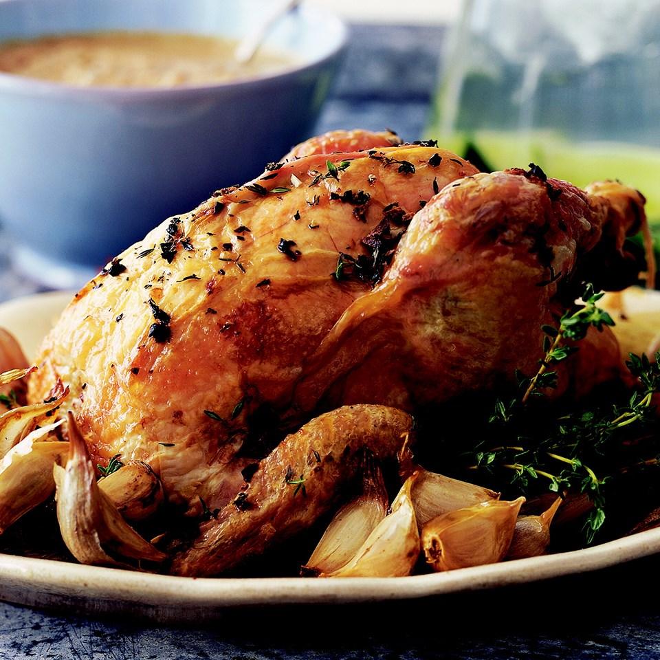 Chicken with Garlic Galore