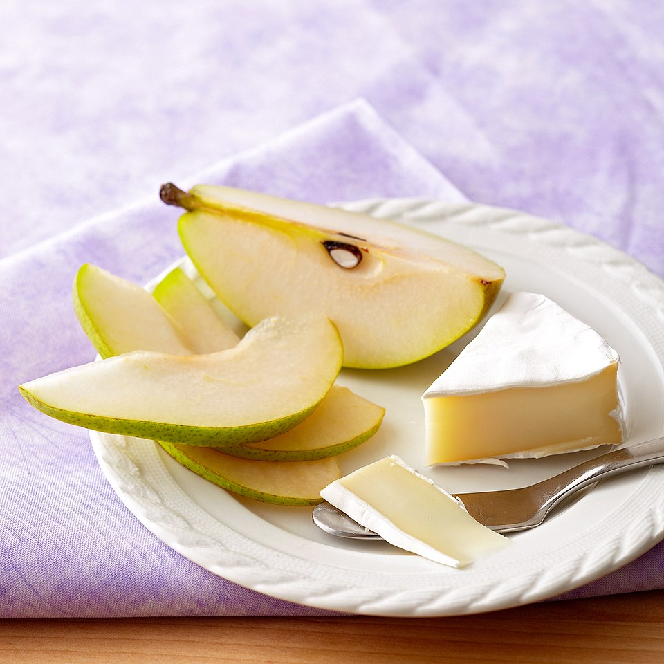 Pears & Brie Cheese