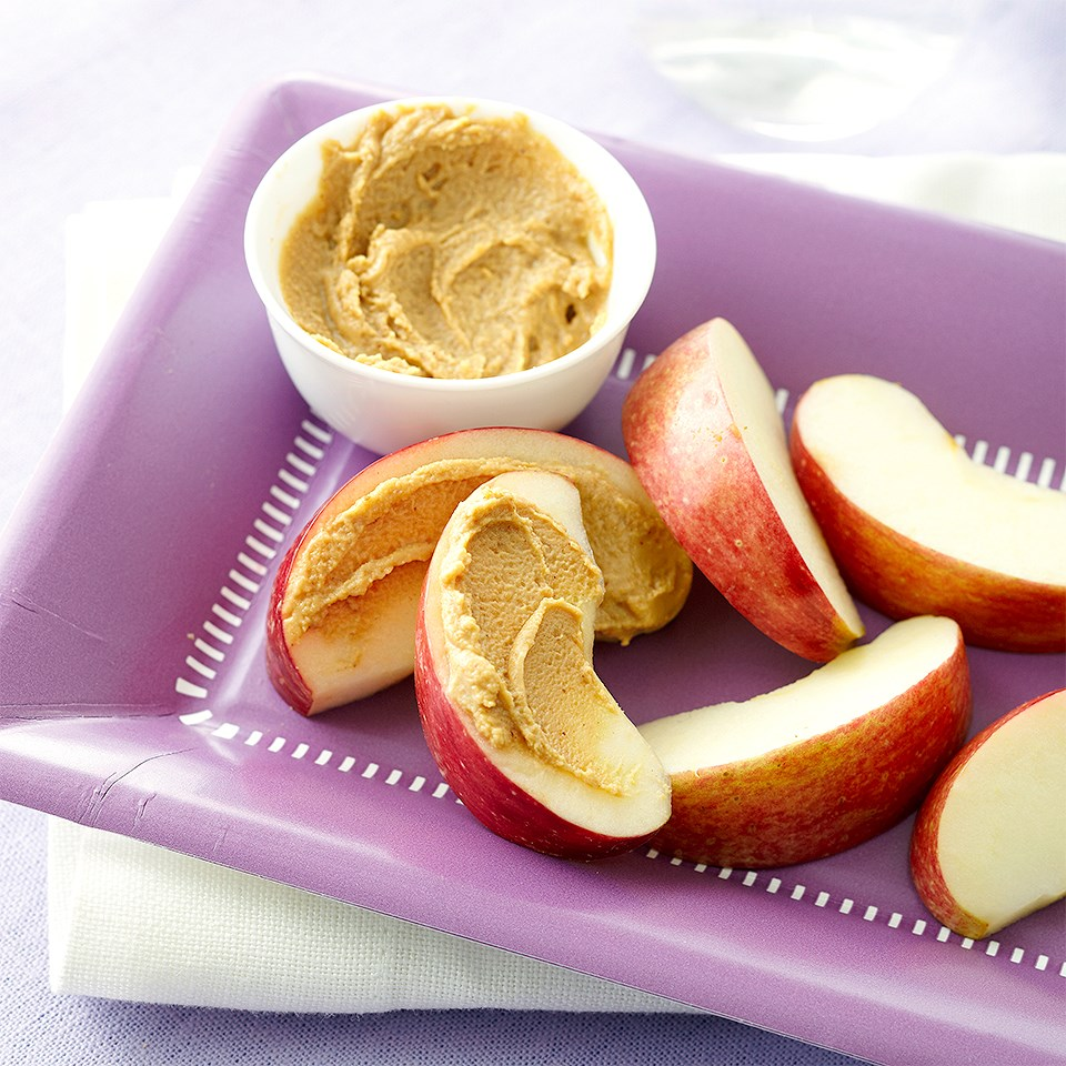 Apple Wedges & Peanut Butter