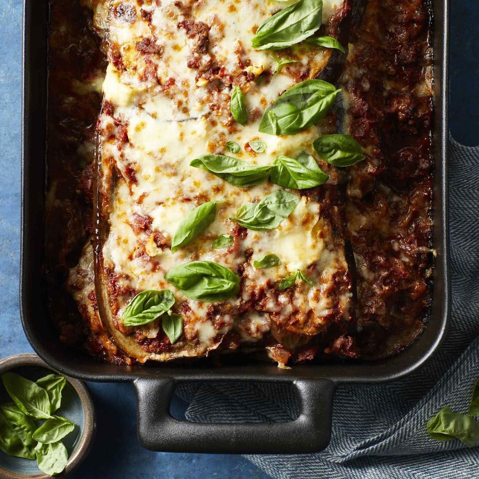 No-Noodle Eggplant Lasagna