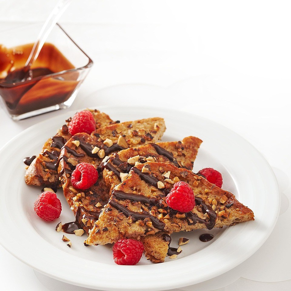 Cocoa Almond French Toast
