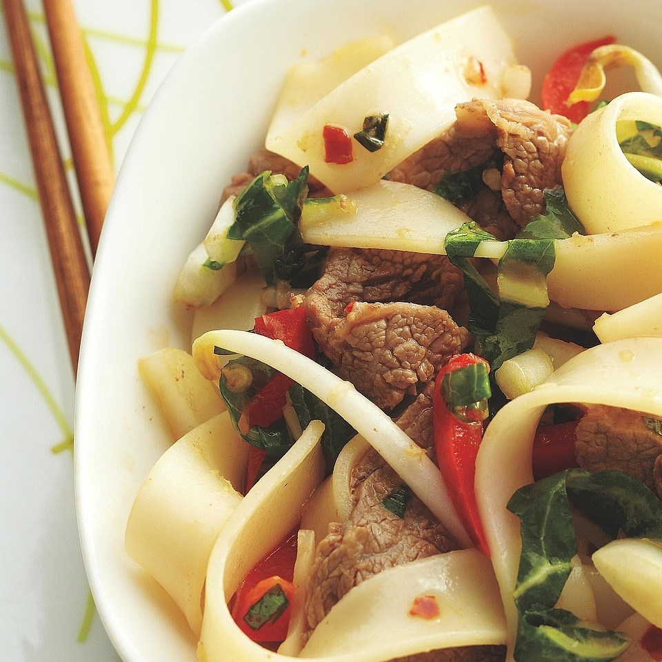 Vietnamese-Style Beef and Noodle Bowls