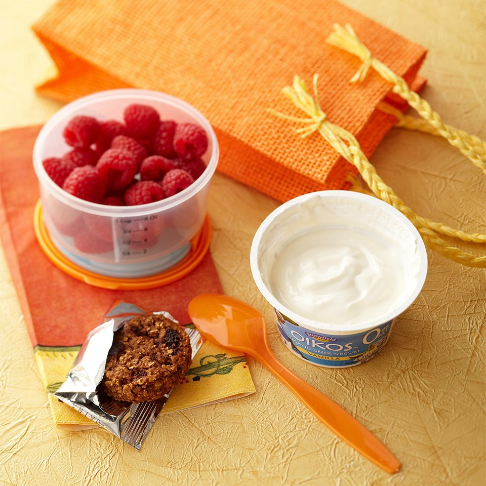 Mini Breakfast Cookie & Yogurt