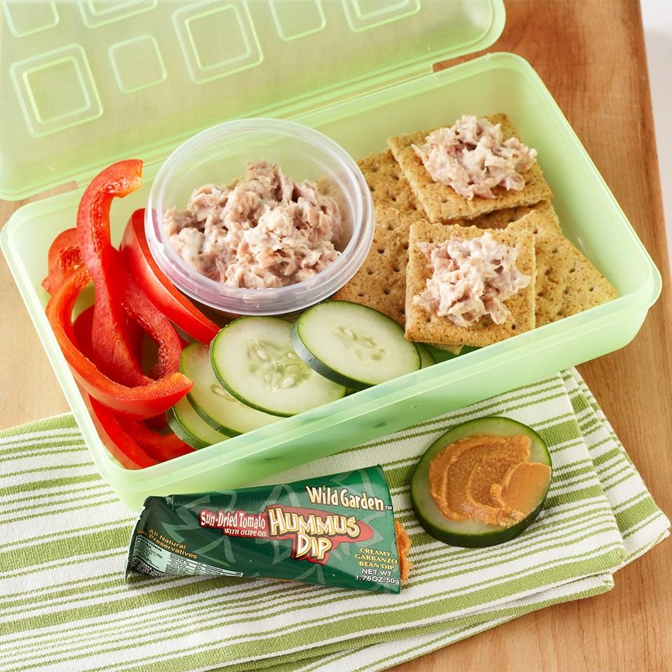 Tuna Salad Crackers