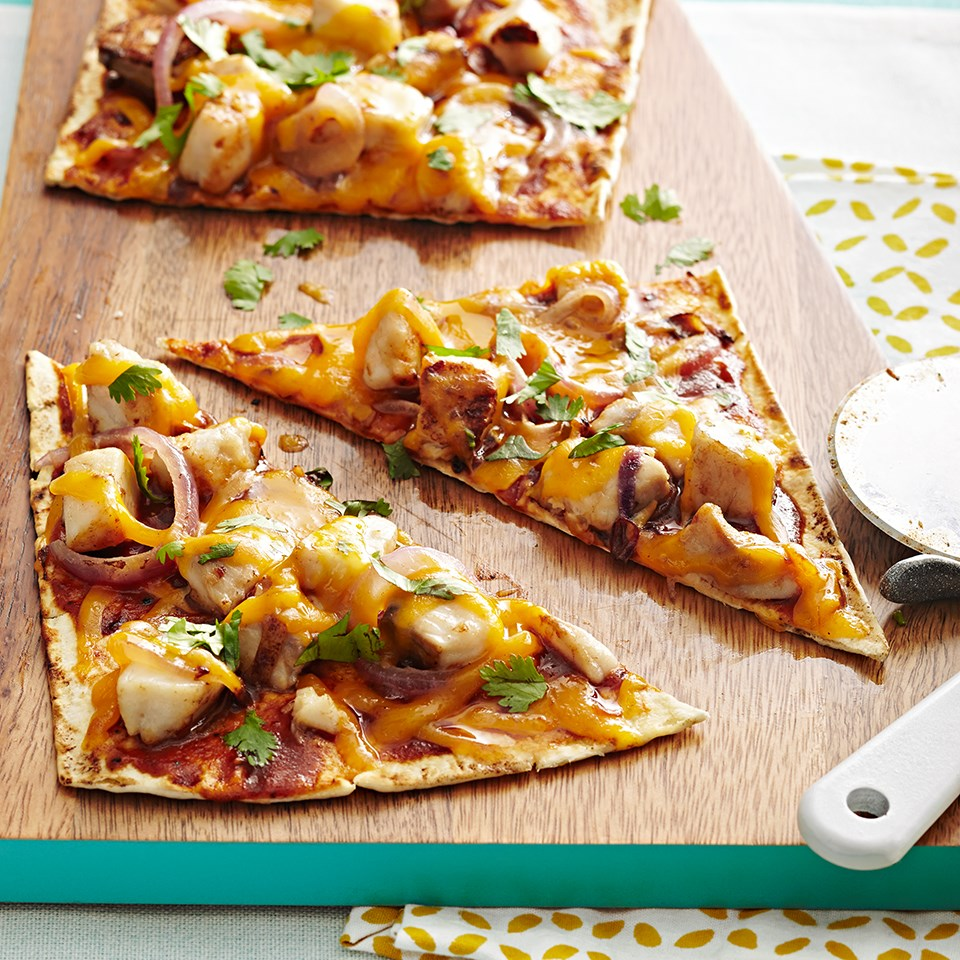 Barbecue Tilapia Pizza