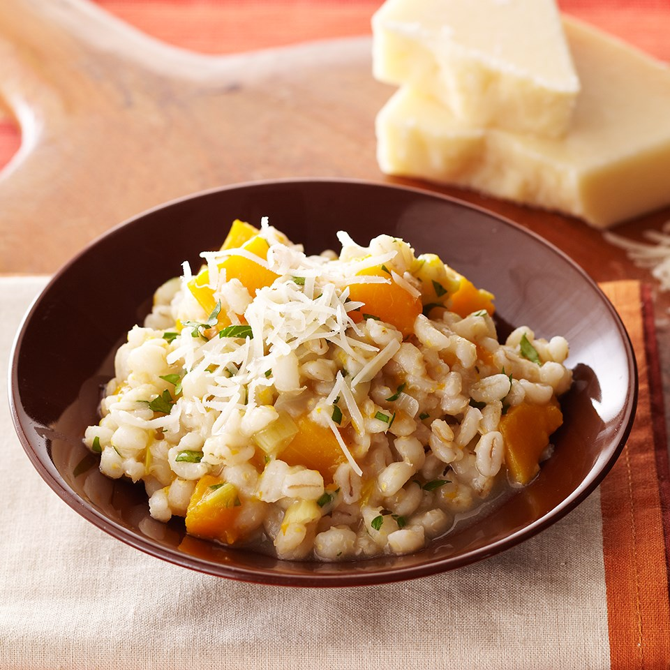 Barley Risotto with Butternut Squash