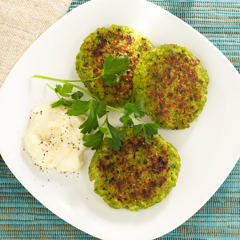 Edamame Falafel with Lemon Aioli