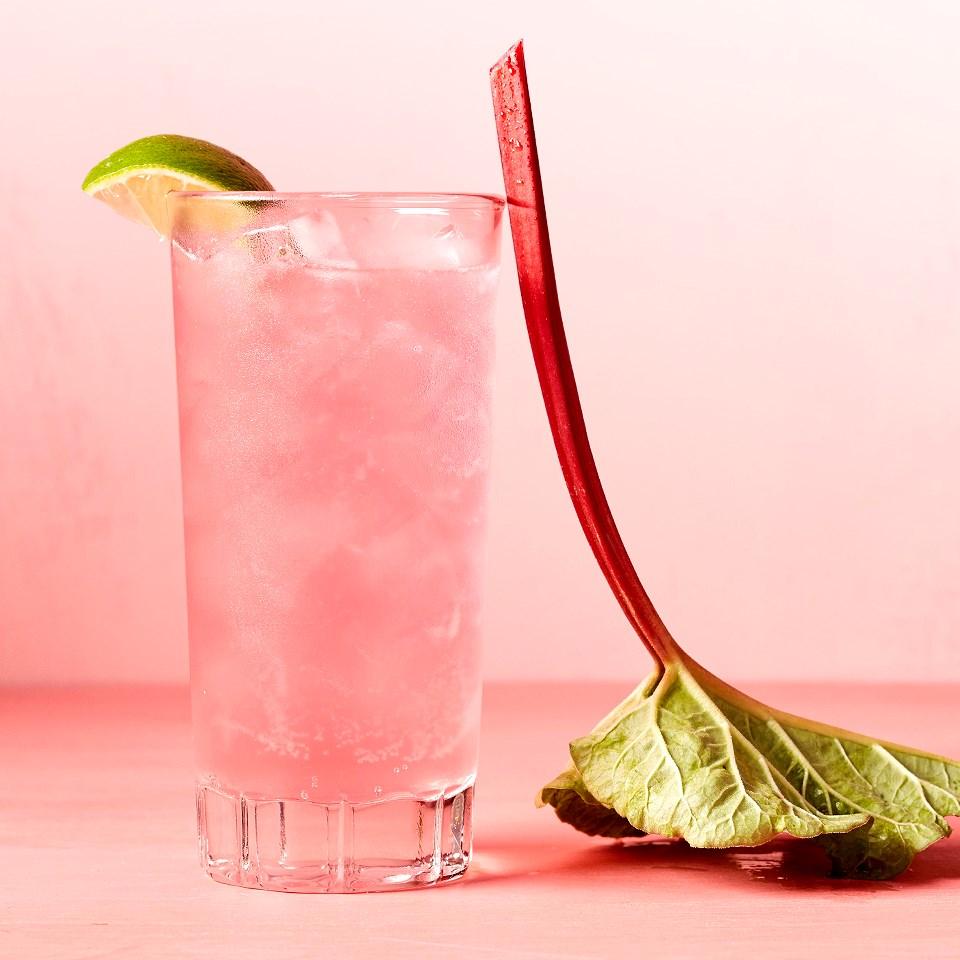 Spring Rhubarb Cocktail