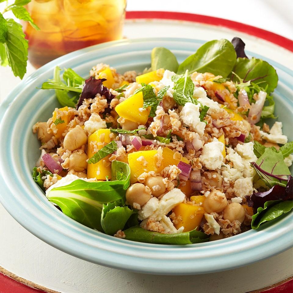 Bulgur-Mango Salad