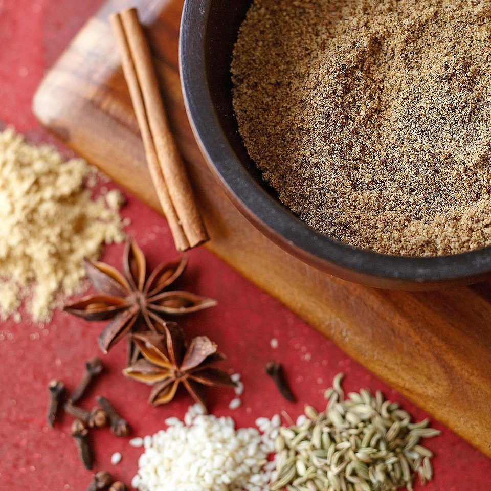 Sesame Ginger Spice Rub