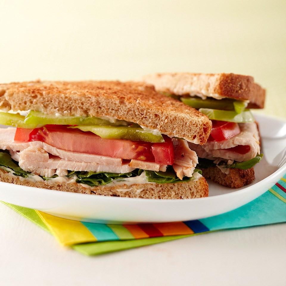 Cajun Turkey Sandwich