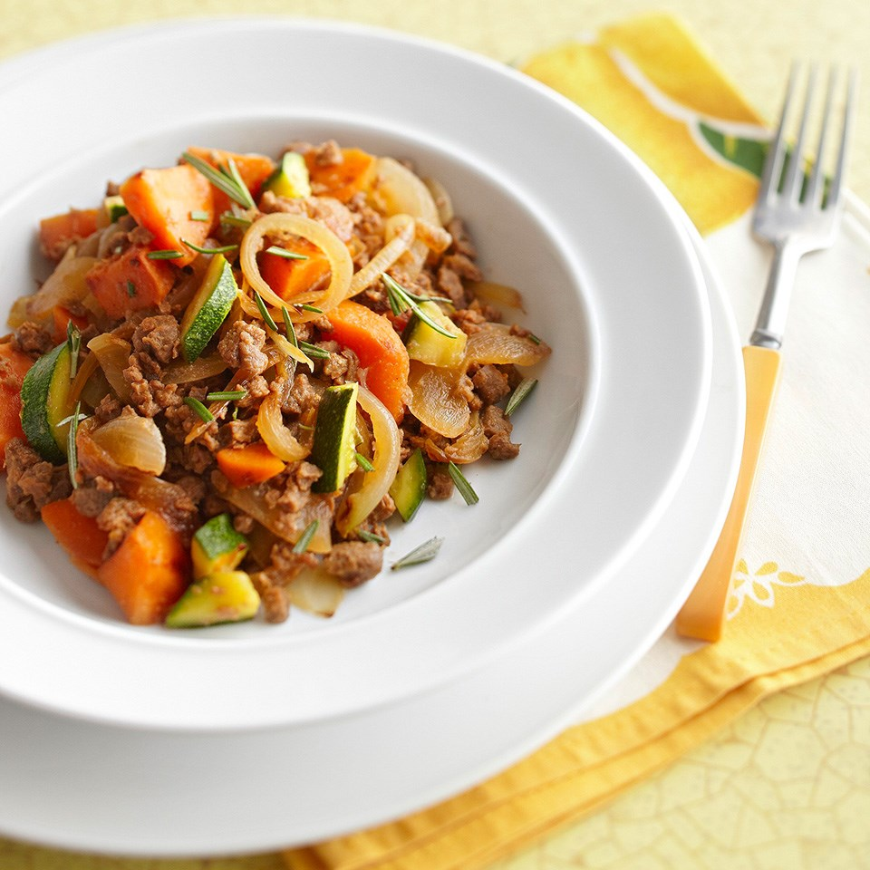 Meatless Sweet Potato Hash