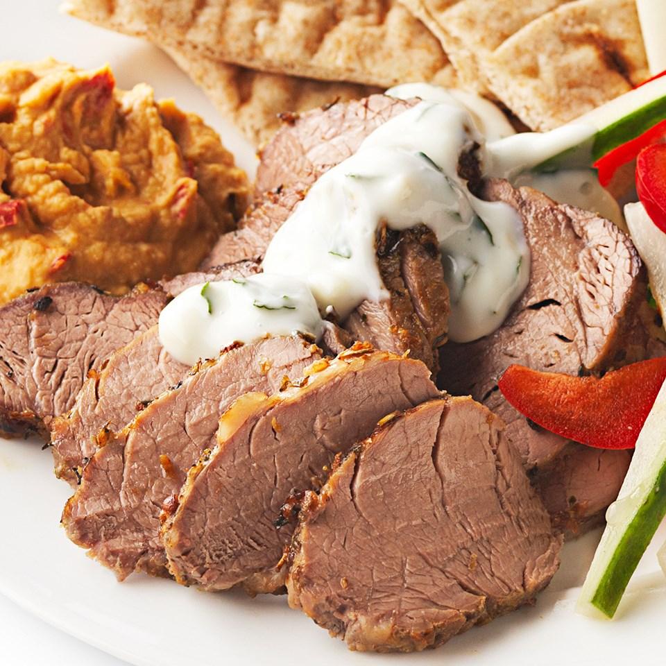 Greek Pork Tenderloin