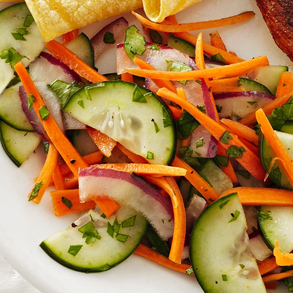 Carrot-Cucumber Salad