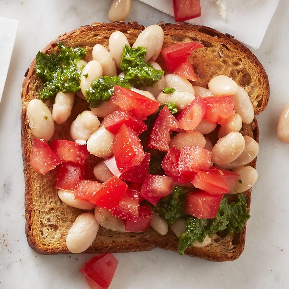 White Beans Toast