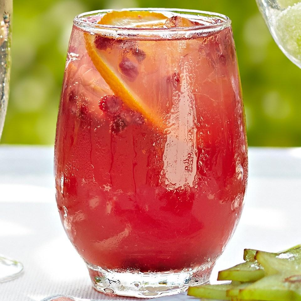 Pomegranate-Citrus Fizz