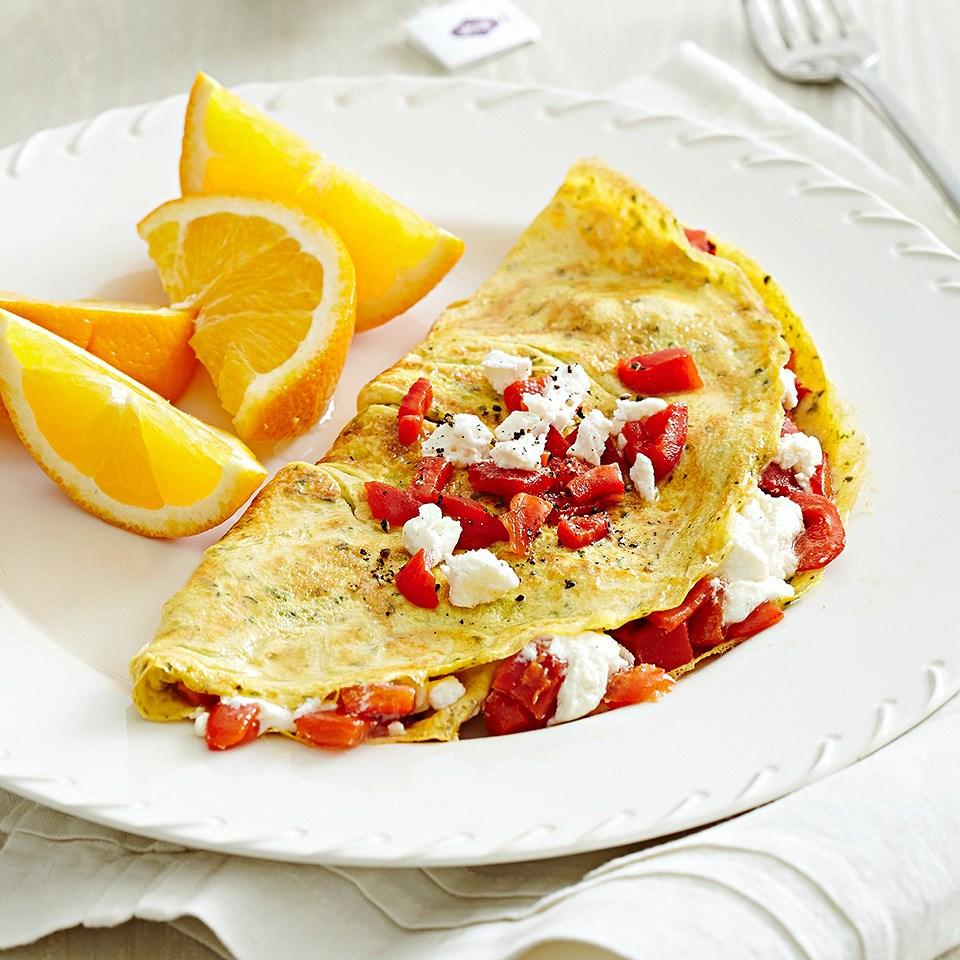 Red Pepper Omelet