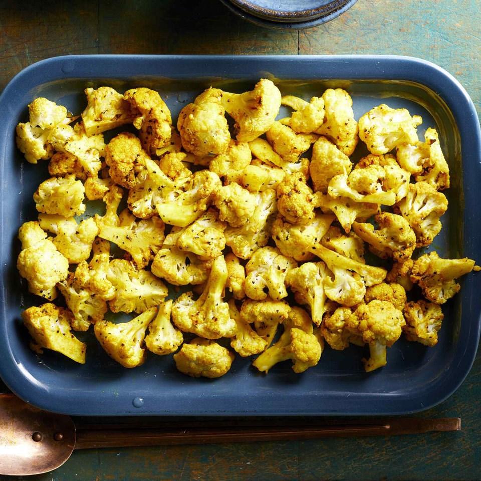 Turmeric-Roasted Cauliflower