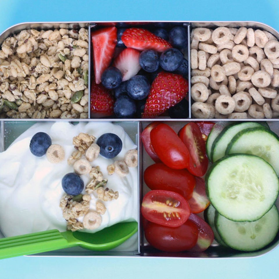 Greek Yogurt Parfait Bento Box