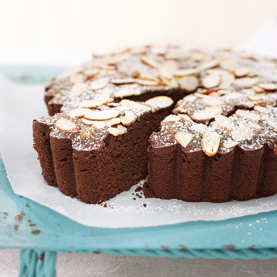 Chocolate-Almond Torte