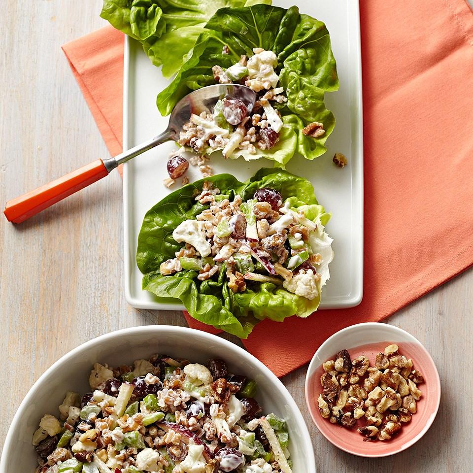 Waldorf Salad Lettuce Wraps