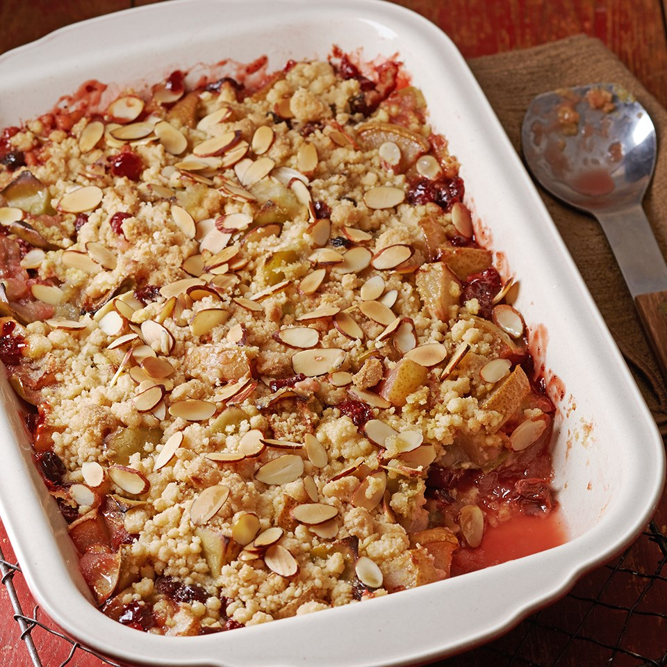 Cherry-Apple Dump Cake