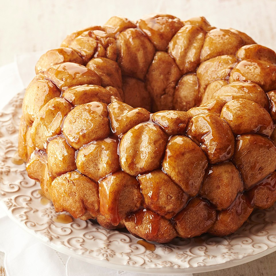 Cherry-Walnut Stuffed Monkey Bread