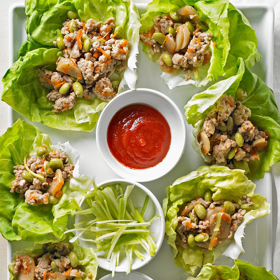 Asian lettuce wraps suite 101