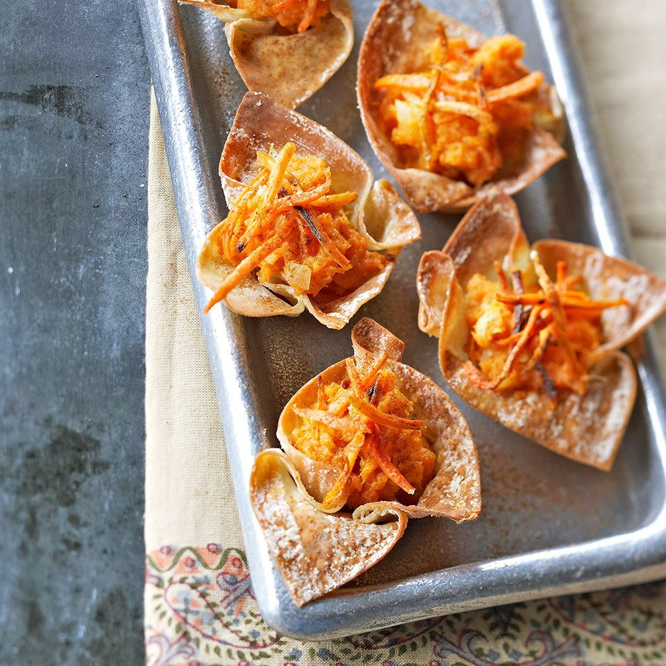Sweet Potato Wontons