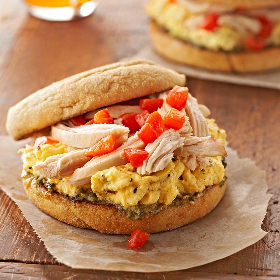 Italian Egg Breakfast Sandwich