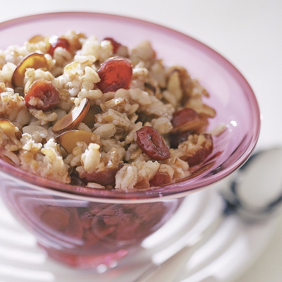 Cranberry-Almond Cereal Mix