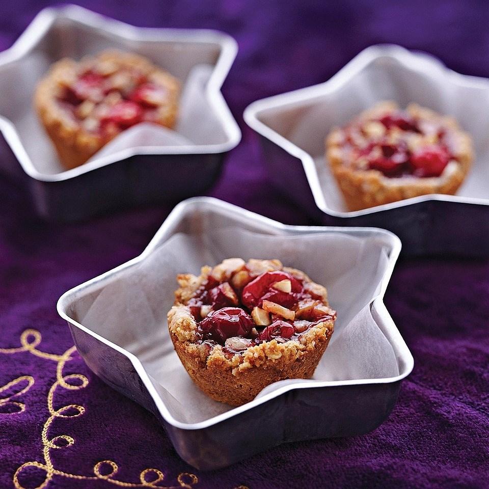 Cranberry-Hazelnut Tarts