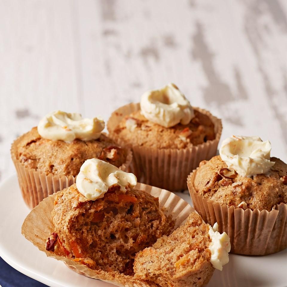 Carrot Cake Cupcakes Recipe Eatingwell
