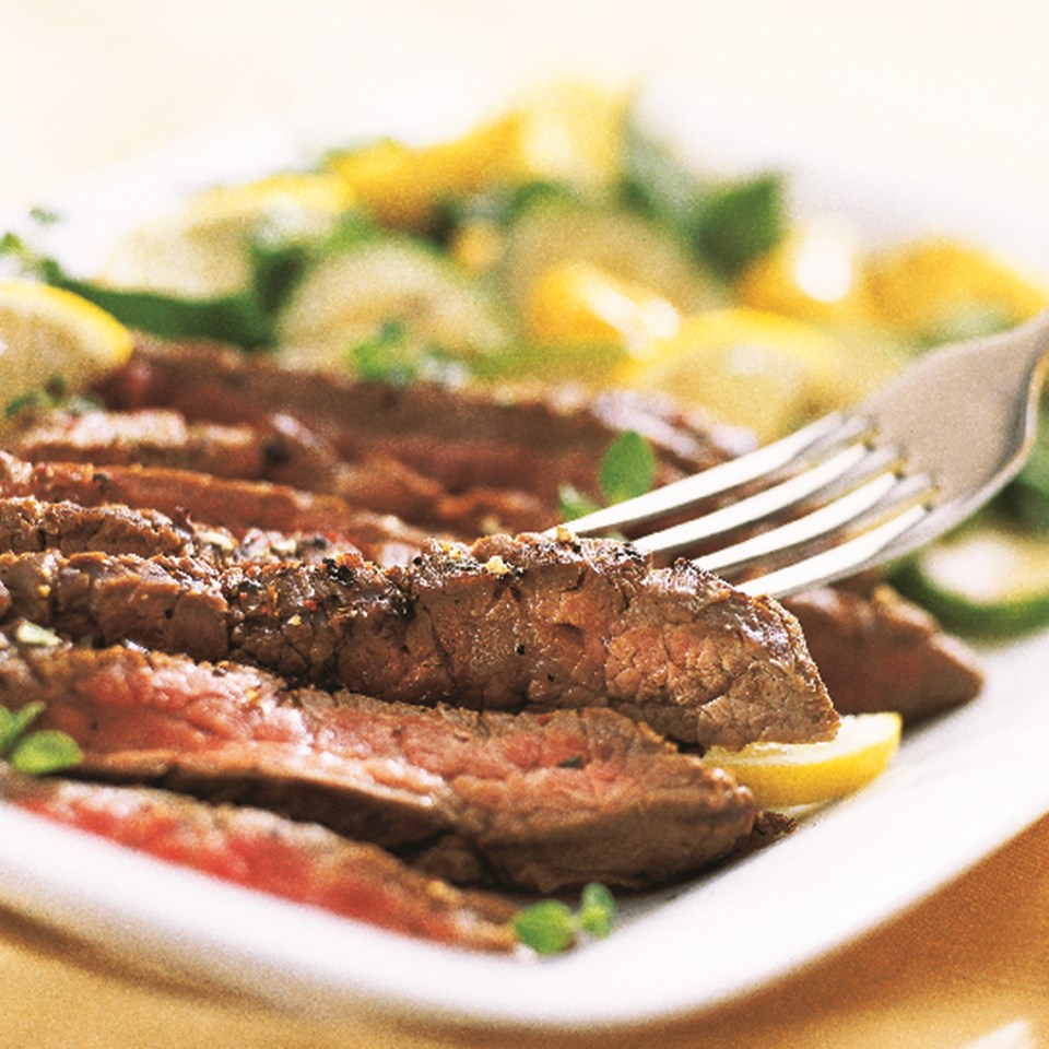 Lemon-Pepper Steak