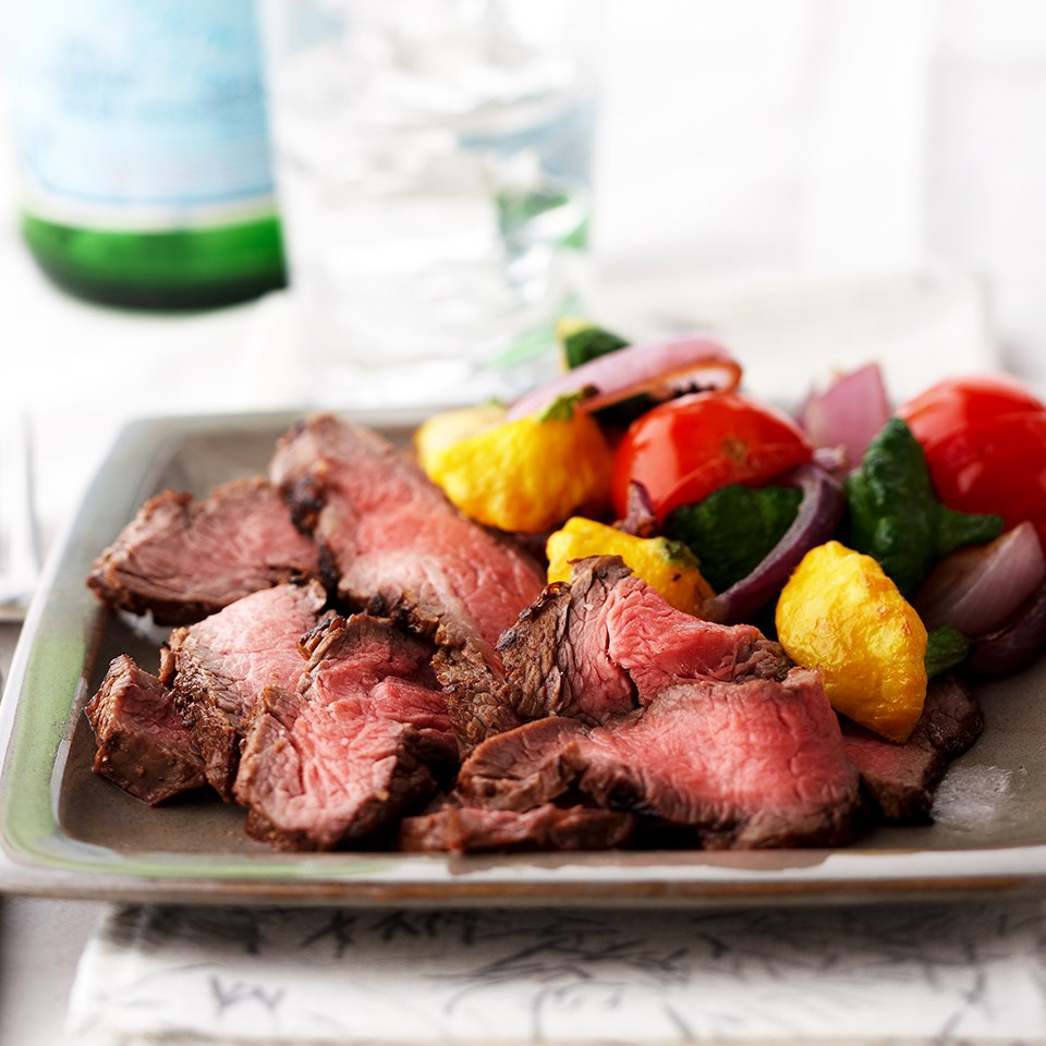 Lemon-Soy Marinated Flank Steak
