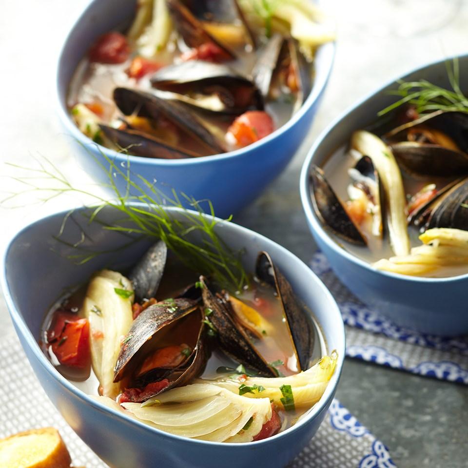 Italian Ale Mussels