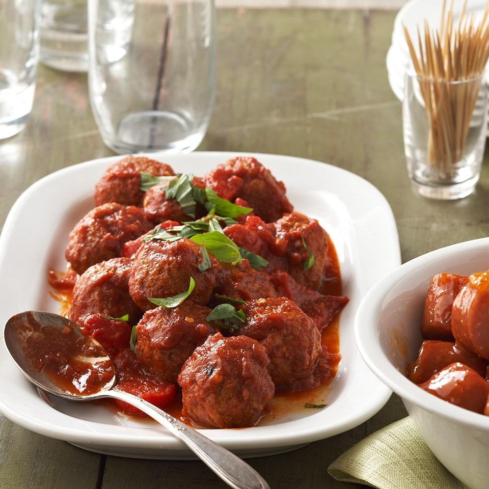 Italian Cocktail Meatballs