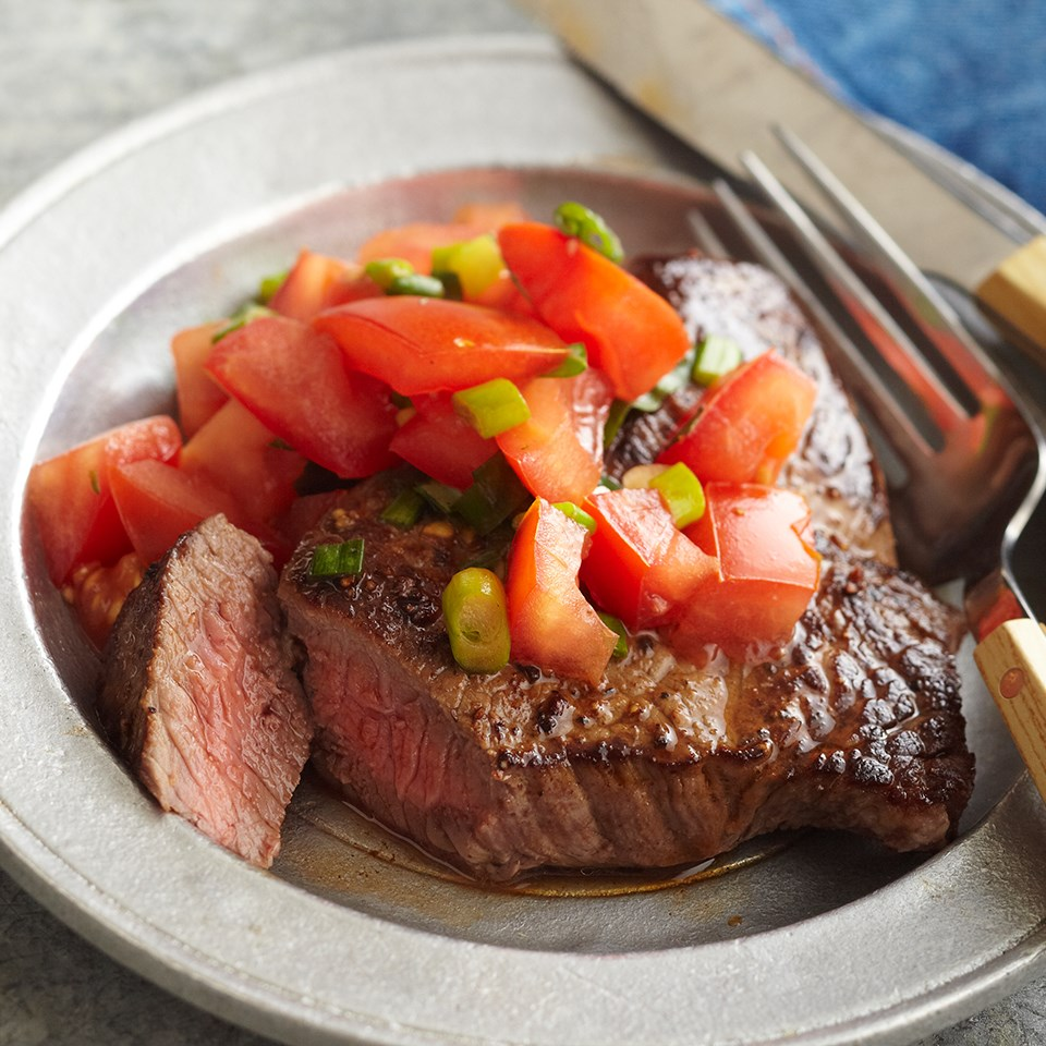 Tomato-Herbed Steak