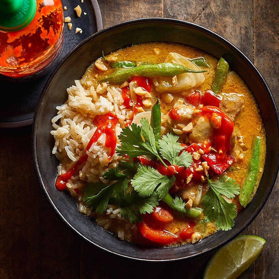 Thai Yellow Chicken Thigh Curry