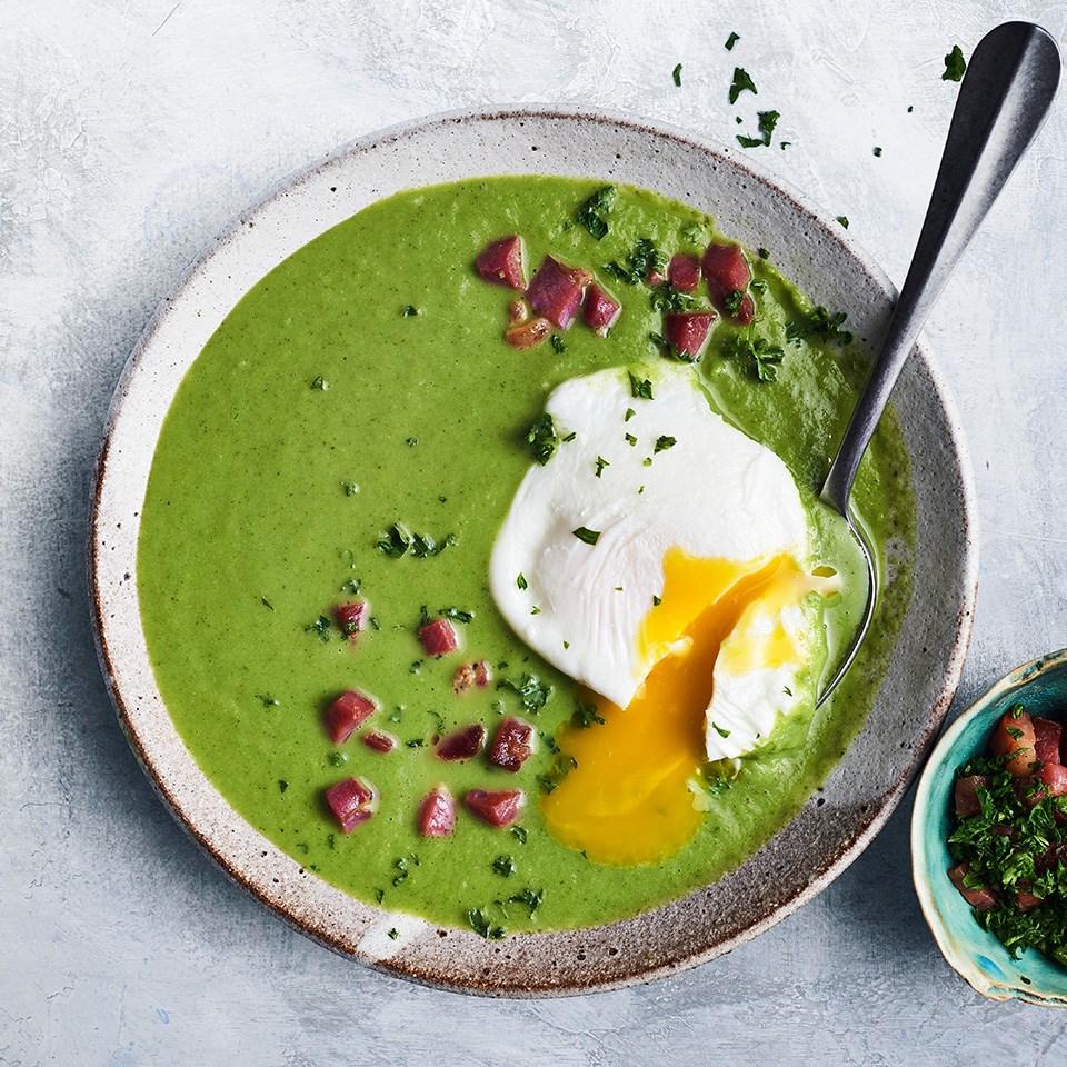 Green Eggs & Ham Soup