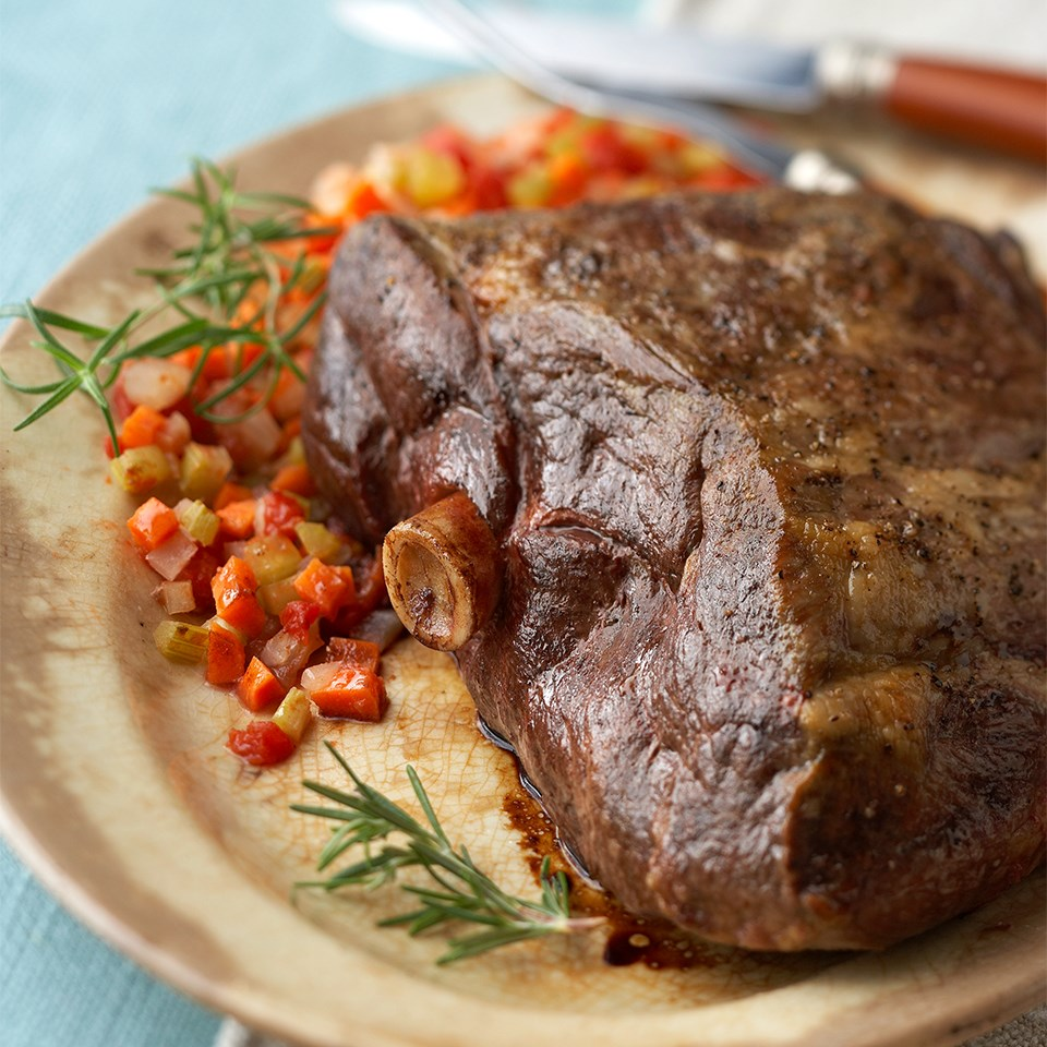 Rosemary Roast Leg of Lamb