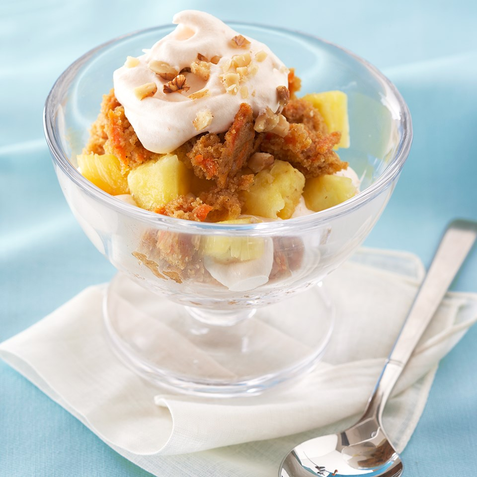 Carrot Cake Parfaits