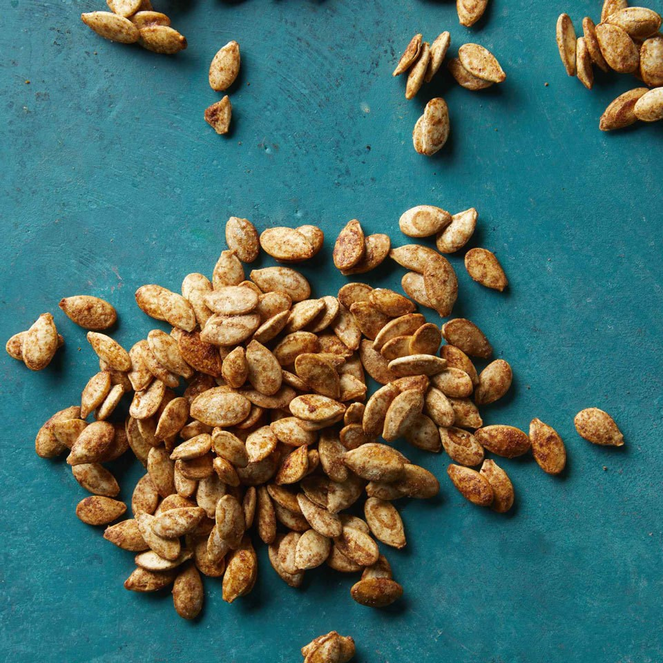 Cinnamon-Sugar Pumpkin Seeds
