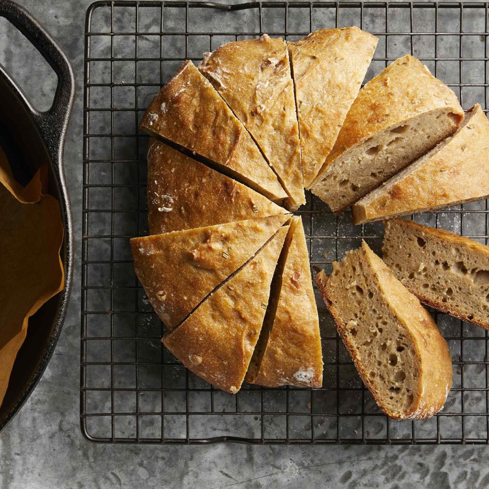The Best No-Knead Whole-Wheat Bread