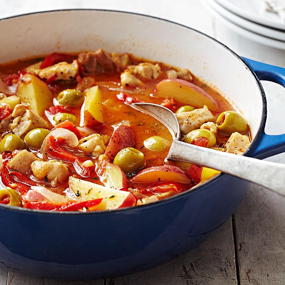 Basque Chicken Stew Recipe