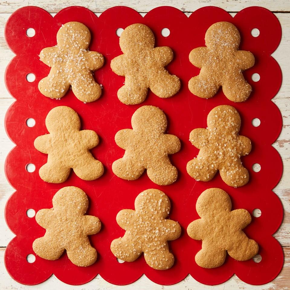 Gluten-Free Gingerbread Cookies