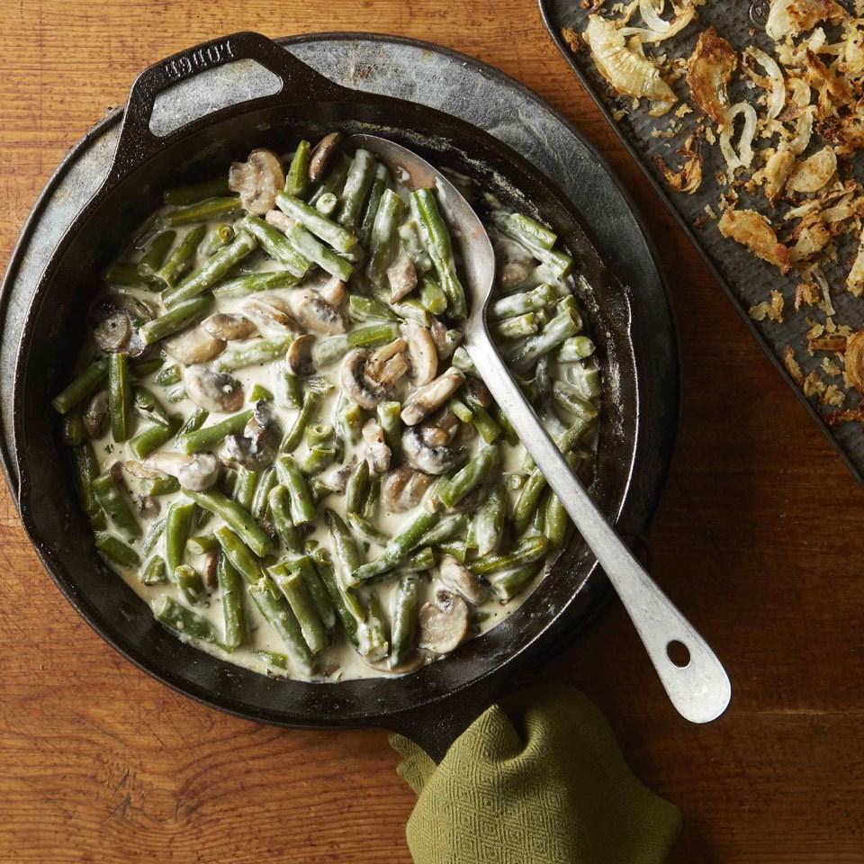 Skillet Green Bean Casserole