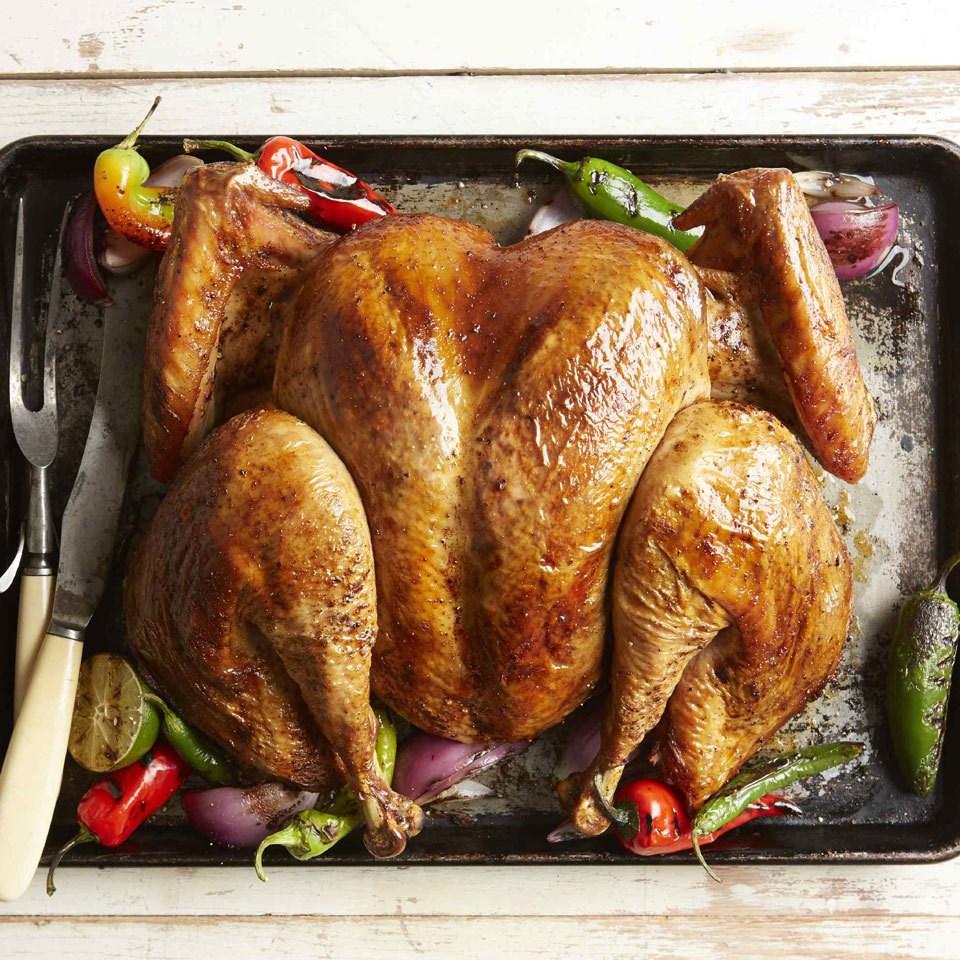 Southwestern Grilled Spatchcock Turkey